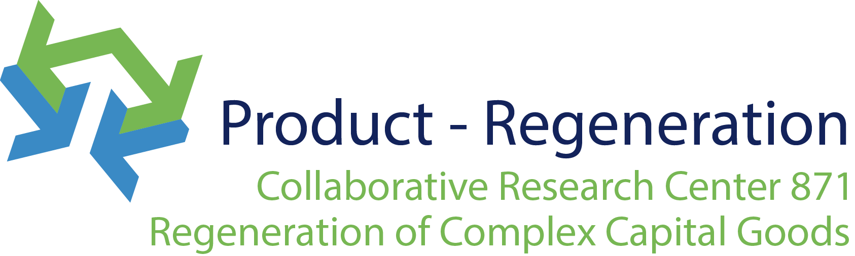 Logo Collaborative Research Center 871: Product-Regeneration
